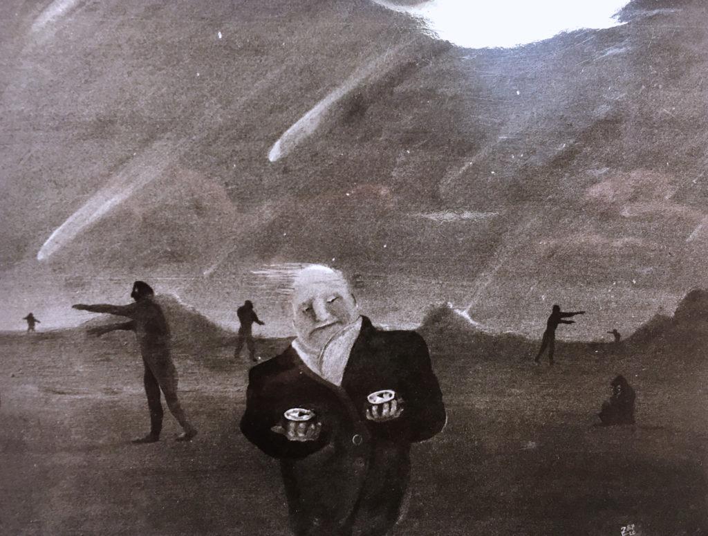 """""""Apokalypsa"""", 80. léta, neznámé parametry / neznámý majitel / č. 184"""