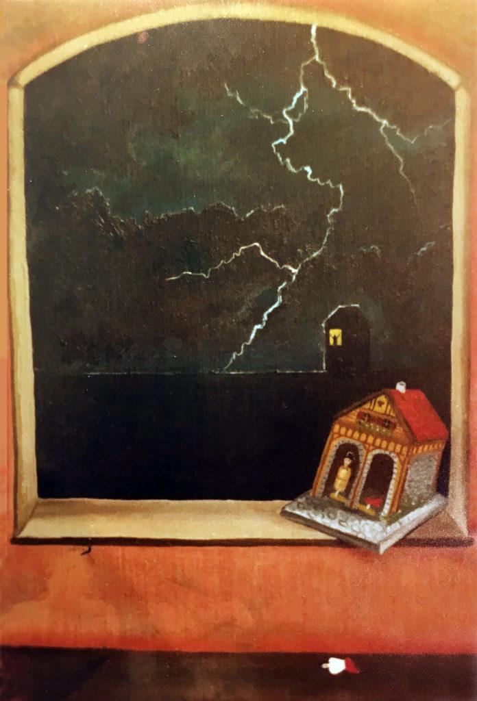 """""""Hádka"""", 80. léta, neznámé parametry / neznámý majitel / č. 186"""