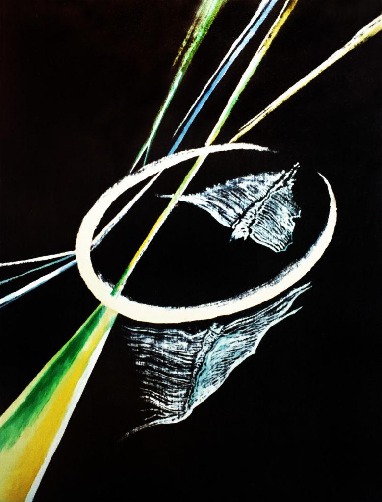 """""""Vesmírní motýli"""", 80. léta, neznámé parametry / neznámý majitel / č. 192"""