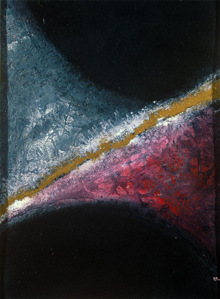 """""""Rovnováha"""", 1991, neznámé parametry / neznámý majitel / č. 237"""