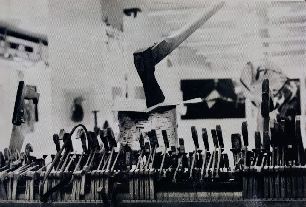 Dřevorubcovo rekviem, 1989, objekt / nedochováno / č. 240
