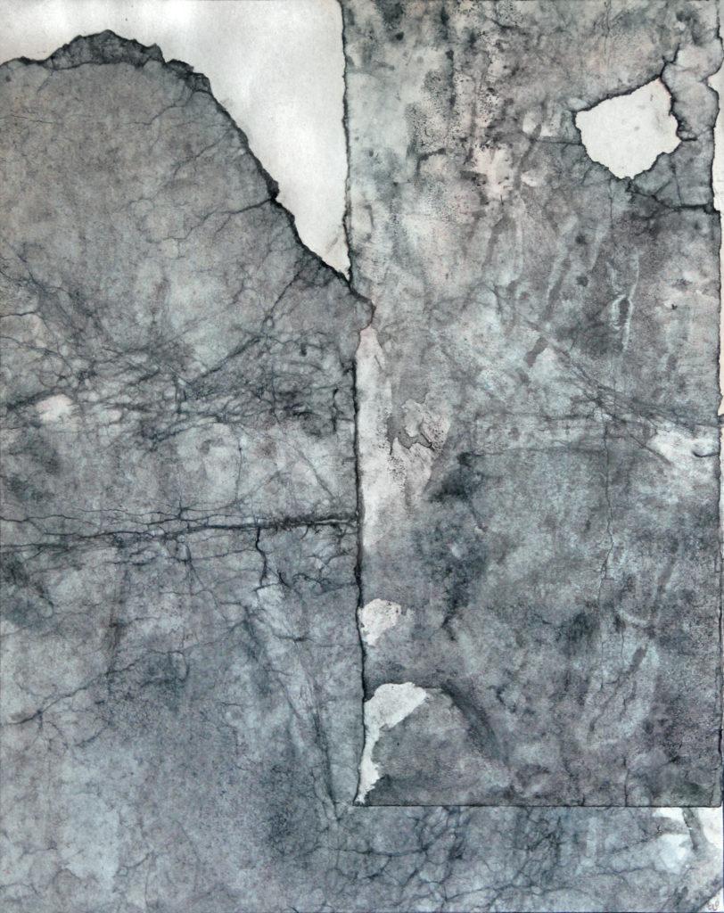 Zpověď, 2011, 60 x 48 cm, instalace / koláž / k prodeji / č. 60