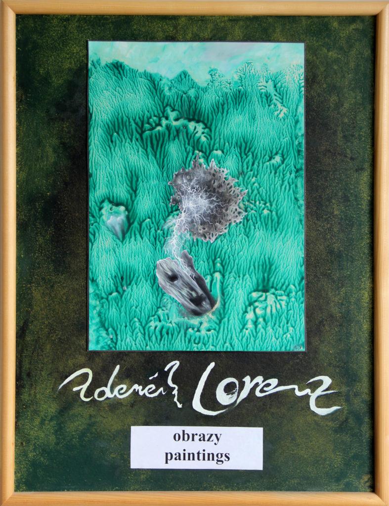 Malé dogmatické území, 2011, 70 x 53 cm, olej na kartonu / k prodeji / č. 64