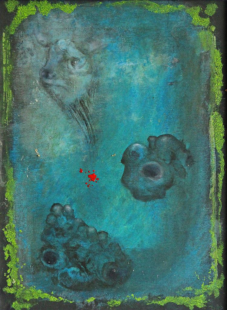 Jatka, 2008, 44 x 34 cm, olej na kartonu / v soukromé sbírce / č. 93